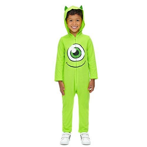 Mike Sullivan Halloween Costume (Disney Pixar Monsters Inc Mike Wazowski Baby Boys Costume Coverall 18)