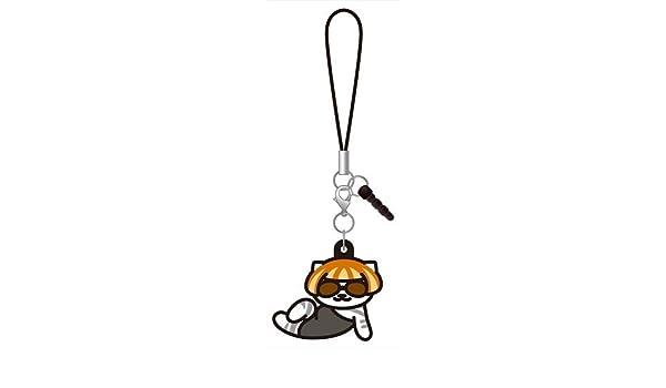Lady Meow-Meow, Amesho-san Neko Atsume Cat 3way Rubber Strap Ver.2