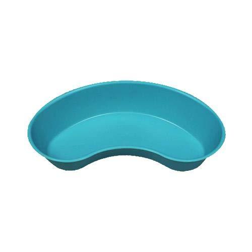 Emesis Basin - 500 CC Kidney Shaped Turquoise Emesis Basin with Graduations (Pack of 5)