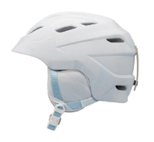 Giro Women's Decade Snow Helmet (Matte White Towers, Medium), Outdoor Stuffs