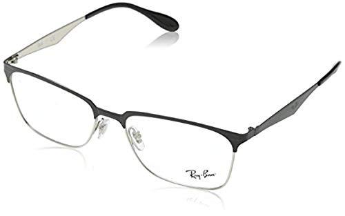 7e9b5db983b47 Eyeglasses Ray-Ban Vista RX 6344 2861 TOP BLACK ON SILVER