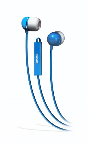 Maxell 190301 In Ear Bud With Mic Maxell Microphone