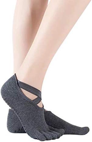 女性用のヨガソックスとバレエダンス用のつま先のないつま先のないつま先のソックスソックス 靴下 サーモソックス ビジネスソックス スポーツソックス 脱げない 抗菌防臭 吸収速乾 通気性抜群