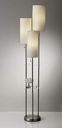 """Adesso Trio 3-Light Floor Lamp, 68"""" Smart"""