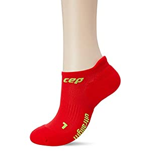 CEP Women's No Show Compression Ultralight Running Socks