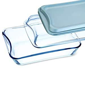 Amazon.com: Simax - Posavasos rectangular de cristal ...