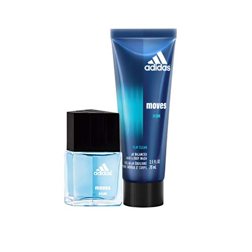 Apple Gel Eau De Toilette - adidas Moves for Him Eau De Toilette and Hair and Body Wash