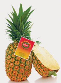 Fresh Pineapple - DEL MONTE PINEAPPLE GOLD FRESH FRUIT PRODUCE EACH