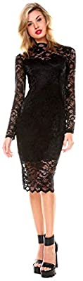 Stanzino Cocktail Dress | Women's Long Sleeve Lace Dresses for Special Occasions