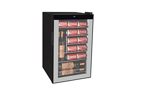 Curtis MIS2433 Beverage Center (101 Cans Or 24 Wine Bottle), Black