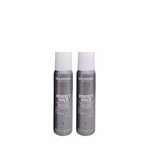 - Goldwell Stylesign Perfect Hold Big Finish 4 Volumizing Hair Spray 3.4oz (Travel sizes-2SET)