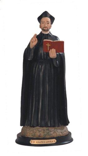 """12"""" St. Ignatius Loyola Religious Figurine Statue"""