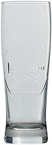 Los Dario Ron vidrio vasos largos: Amazon.es: Hogar