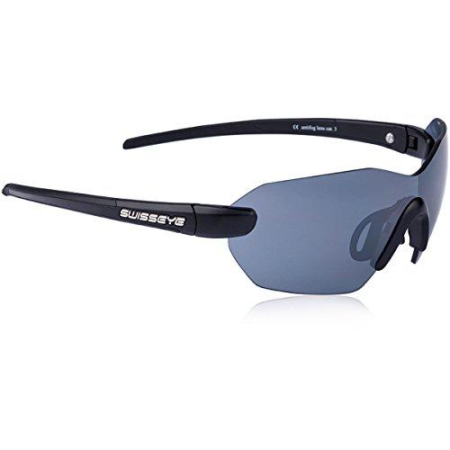 Swiss eye lunettes de sport panorama rX - Noir mat/noir