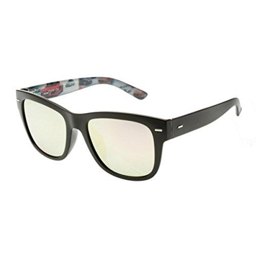 Hombre Gafas Dama manejando Gafas Conducir Marco polarizadas Powder KOMNY Sol Azul Sol de Profundo de Gafas Grande Bobbi 4O7qU0P