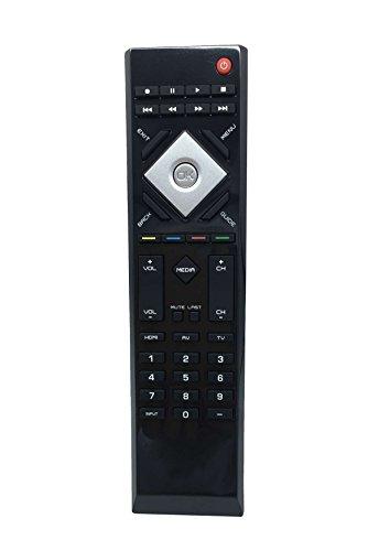 New Remote Control VR15 for VIZIO E421VL E551VL E420VL E470VL E470VLE E421VO; E420VO E370VL E321VL E371VL E320VP E320VL - Edge Lit Led Lcd