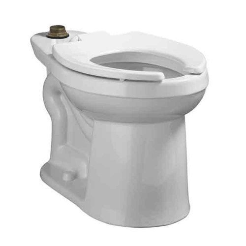 American Standard 3641.001.020 Right Width Right Height Flush Valve Elongated Bowl, White