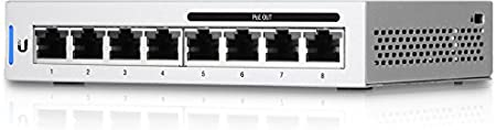 UBIQUITI Switch PoE 8 Puertos GIGABIT 60W