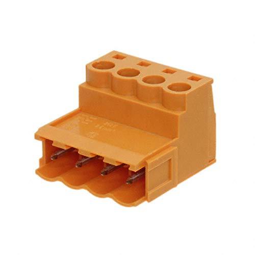 TERM BLOCK PLUG 4POS STR 5.08MM (Pack of 10)
