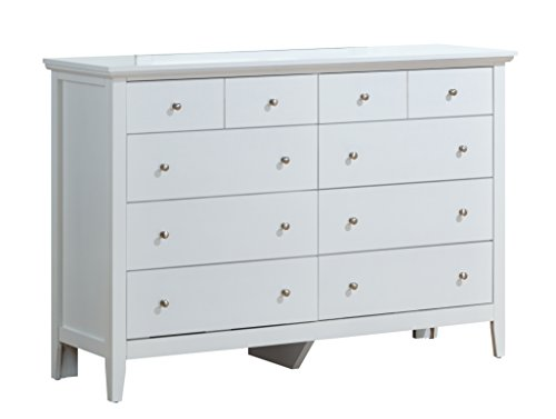 Glory Furniture G5490-D 8 Drawer Dresser White