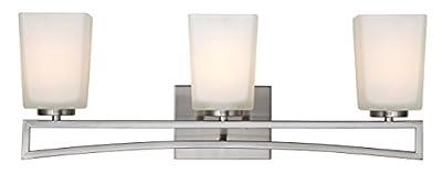 Canarm IVL471A03BN Ltd Alexa 3 Light Vanity