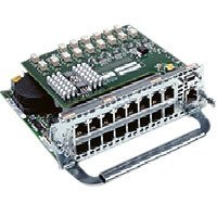 Secure Cisco Router (Cisco NM-16ESW-PWR 16 Port 10/100 Etherswitch Network Module)