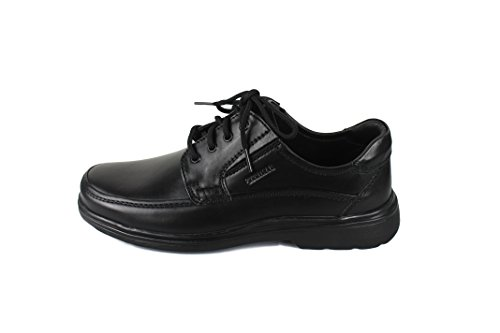 Zerimar Chaussures en cuir pour hommes Chaussures décontractées pour hommes Chaussures Habillées pour Hommes Chaussures Élégantes Couleur Noir Taille 45