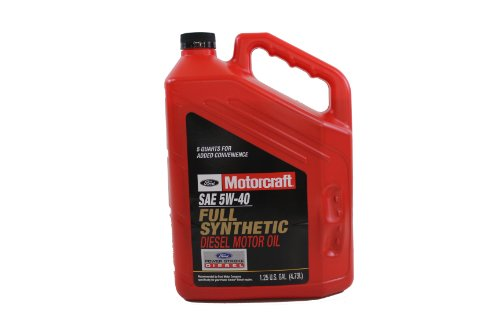 Ford Genuine Fluid XO-5W40-5QSD SAE 5W-40 Synthetic Blend Motor Oil - 1.25 U.S. Gal (4.73L)