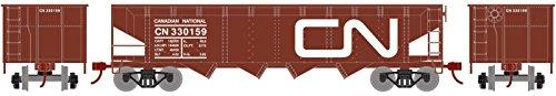 t 4-Bay Offset Hopper/Coal Load Canadian National/CN #330159 ()