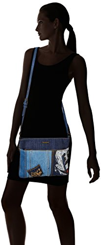 cm T x exotic Blue Bols Bleu Dark bandoulière Baqueira 5 B Denim H femme 2x23x30 Sacs Mickey Desigual xOwRT