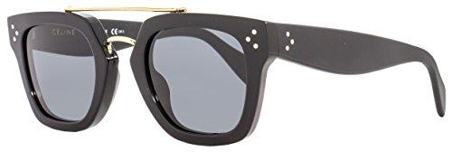 Celine Square Sunglasses 41077S 807 BN - Original Celine Sunglasses Black