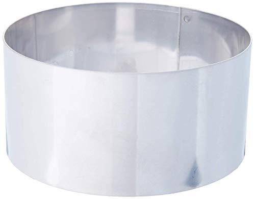 - Matfer Bourgeat 371801 Ice Cake Ring, Silver