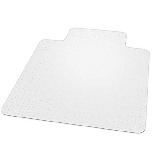 American Floor Mats Chair Mat for Low Pile Carpet | AnchorBar Cleats | Made in USA | Quick Ship - 46