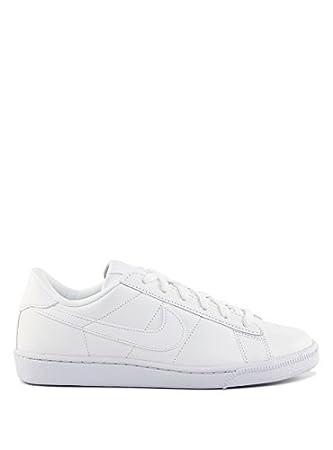 8ea0547705a0f Nike Women's Wmns Tennis Classic Indoor Court Shoes blanco Bianco (White/ White/Bluecap