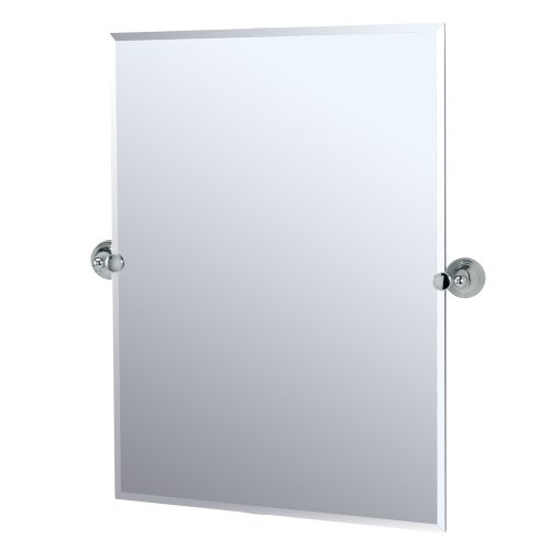 Gatco 4359s Charlotte Rectangle Wall Mirror, Chrome ()