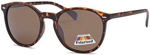 West Coast Women Polarized Sunglasses | Round Lightweight Frame | No Sun - Sunglasses Lightweight