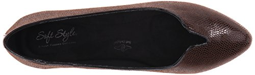 Brown por Puppies Hush Suave Lizard Dark Dillian Estilo Ballet Flat 6qwC8O
