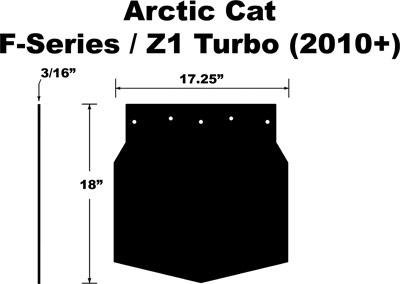 snowmobile mud flap - 7