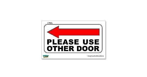 Amazon.com: Por favor, uso Otros – cartel para puerta de ...