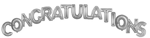 Image result for silver congratulations