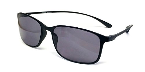 Calabria Reading Sunglasses - 720T Flexie in Ebony +1.75