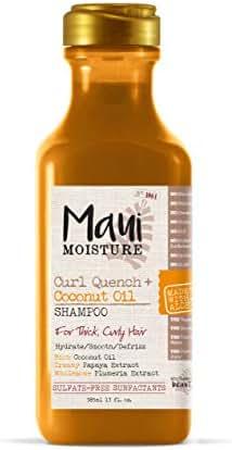 Maui Moisture Curl Quench + Coconut Oil Shampoo, 13 Fl Oz, 13 Oz