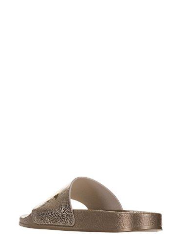 De Casa Pyrex Mujer Para Estar Sintético Dorado Material Zapatillas Por RAFxpOw5q