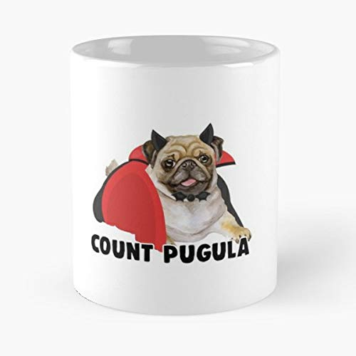 Halloween Pug Dog Pun - Best Gift Coffee Mugs 11 Oz Father Day