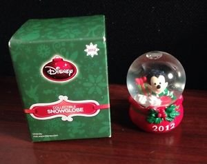 Mickey Mouse JcPenney Snowglobe Waterglobe Globe Christmas Holiday 2012 - Mickey Mouse Snowglobe