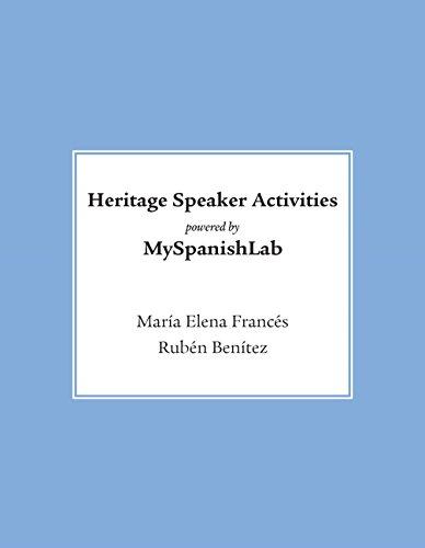 Heritage Speaker Activities Access Card