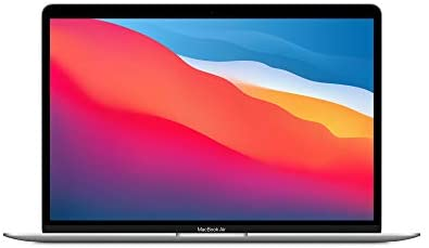 New Apple MacBook Air with Apple M1 Chip (13-inch, 8GB RAM, 512GB SSD Storage) – Silver (Latest Model)