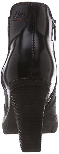 s.Oliver 25463 - botas chelsea de material sintético mujer gris - gris (graphite 206)