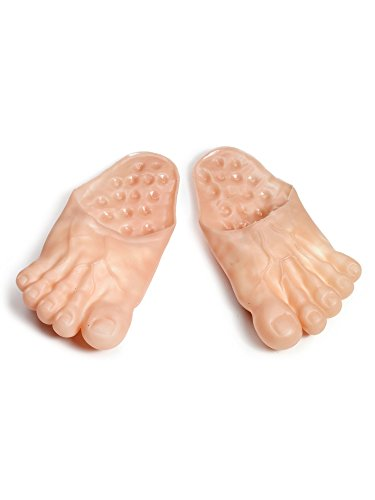 Forum Novelties Jumbo Bare Feet - Giant Feet Accessory ()