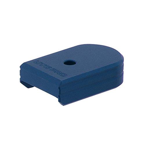 UTG Pro Plus 0 Base Pad, CZ P07/P10C, Matte Blue Aluminum